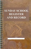 60165 Sunday School Register and Record