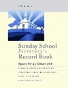 978-1426-774157 Ideal Sunday School Secretary Record Book
