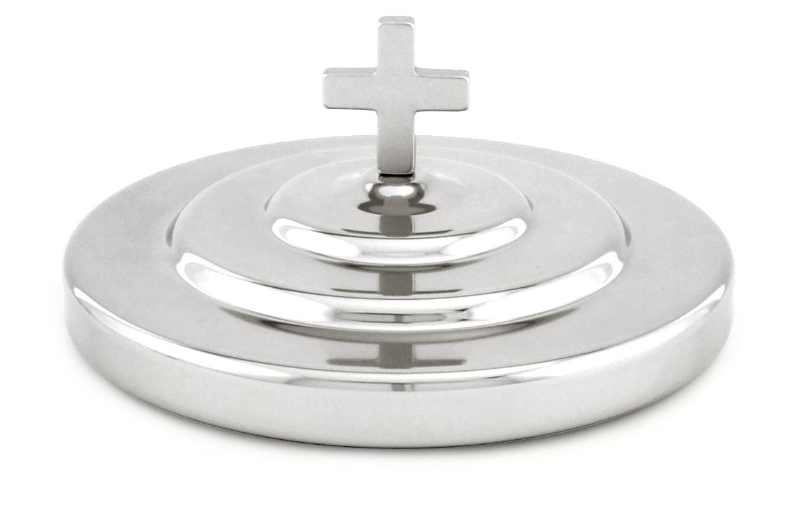 Polished Communion Bread Plate Cover
