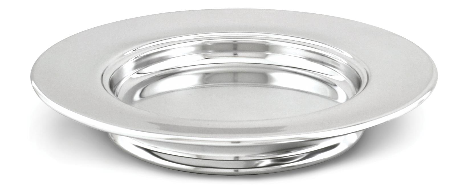 Polished Communion Bread Plate