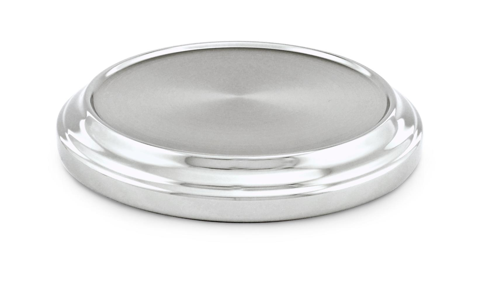 Polished Communion Bread Plate Base
